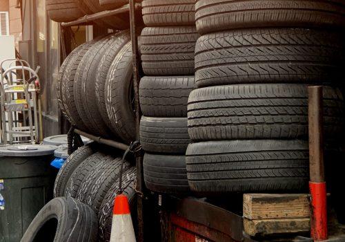 Used tyre Sunpower